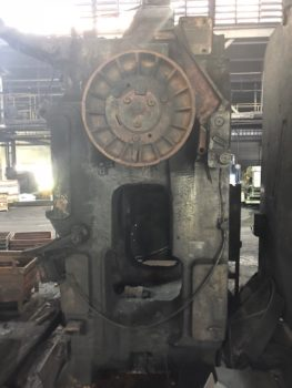 1,600 Ton Erie mechanical hot forging press built in 1980