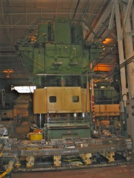 5000 TON BLISS HS-5000-4R-84-204 HYDRAULIC PRESS - Ray